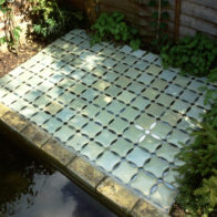 Joint project Richard Henry & Delfina Bottesini. Stoneware tiles (2004)