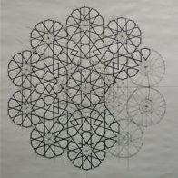 Ink on paper, 80cm x 80cm - Richard Henry