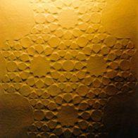 Blind emboss on vellum paper, 20cm x 30cm, Richard Henry (2003)