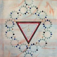 Chinese paints, gouache & silver leaf on paper, 30cm x 42cm, Richard Henry (2007)