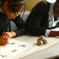 Geometry workshop at Raines School, Bethnal Green