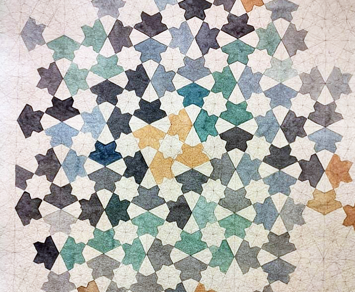 Alhambra Alicatado design. Artwork @ammarjiman